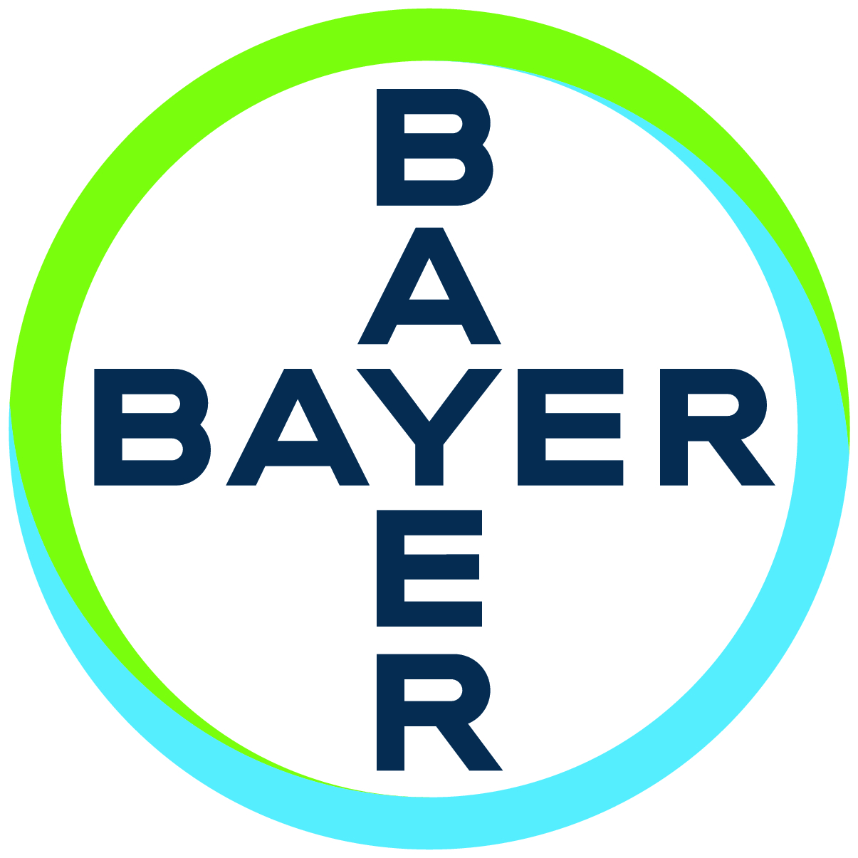 logo of the pesticide company bayer